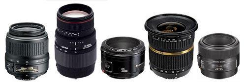 lentes câmera
